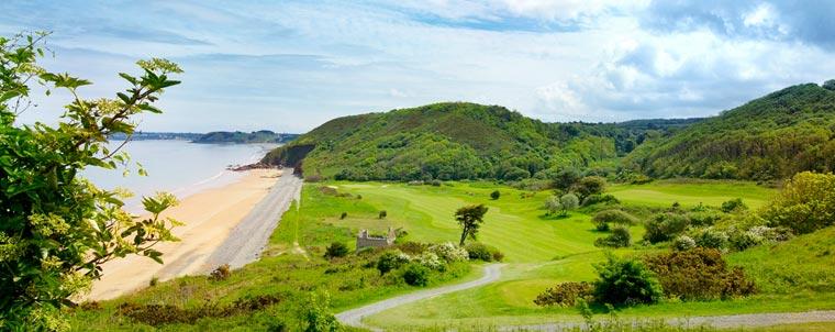 terrain golf en Bretagne