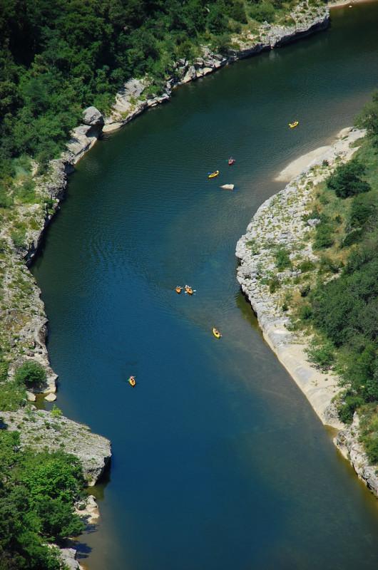 séminaire canoë en Ardèche