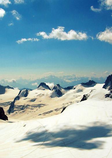 Olympiades dans les Alpes