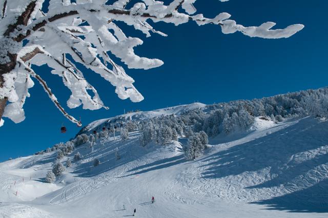 glisse en montagne à chamrousse