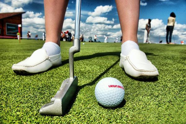 Activité golf de votre séminaire multi-activités