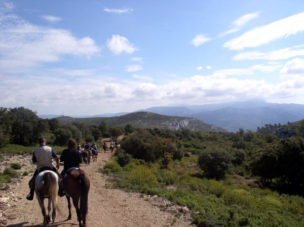 rando à cheval de votre séminaire multi-activités