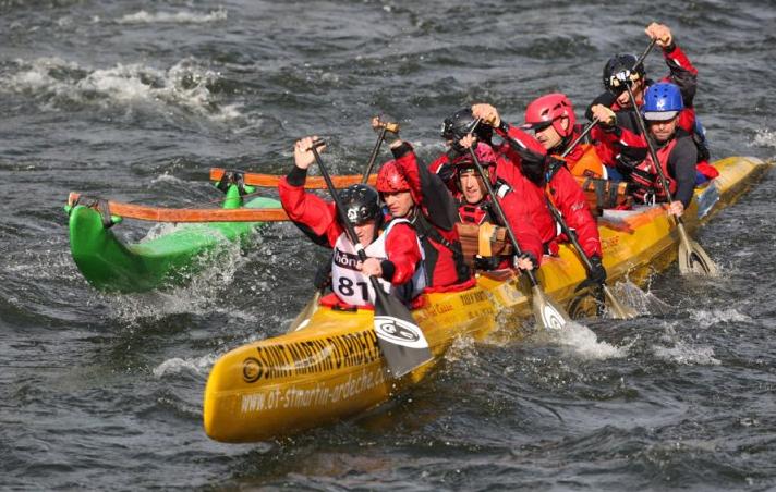 Activité canoe de votre team building en Ardèche