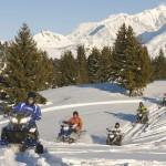 Activité motoneige de votre séminaire au ski