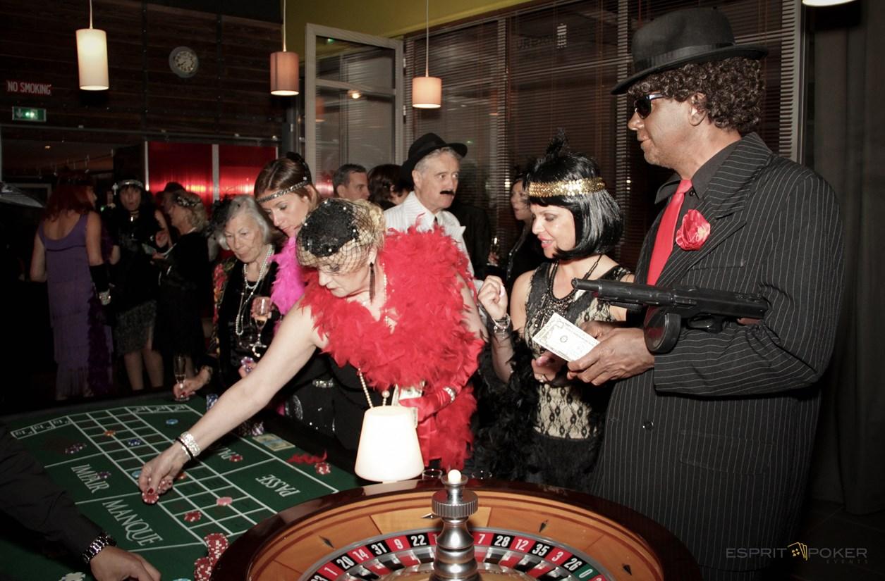 année folles pour votre soirée d'entreprise à thème