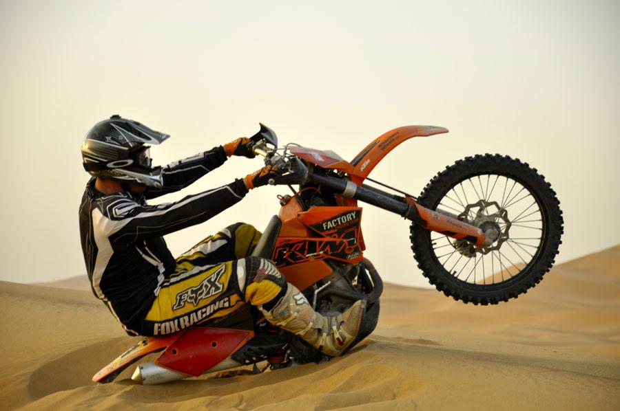 Plantage moto